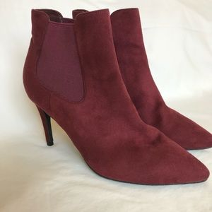 14th & Union burgundy ankle bootie size 9.5 new
